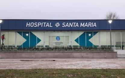 EL NUEVO HOSPITAL SANTA MARÍA NO TIENE INTERNACIÓN NI TERAPIA INTENSIVA. TE DERIVAN AL LARCADE
