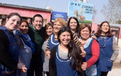 """""""TEMA CULMINADO"""" DICE LEO NARDINI Y TE MUESTRA LOS PAVIMENTOS DE ESCUELAS 20 Y 37 EN MALVINAS ARGENTINAS"""