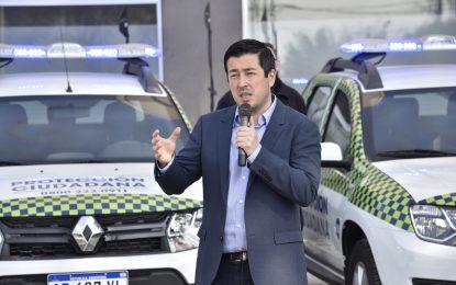 DIEZ NUEVOS PATRULLEROS INCORPORÓ MALVINAS ARGENTINAS PARA PROTECCIÓN URBANA. GESTIÓN NARDINI
