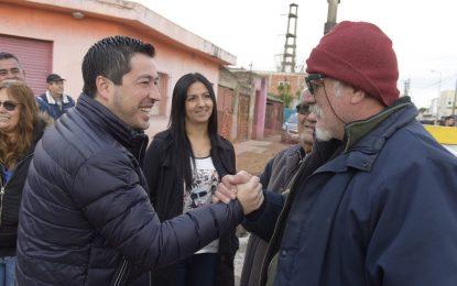 EL INTENDENTE NARDINI RECORRIÓ OBRAS EN GRAND BOURG DE MALVINAS ARGENTINAS