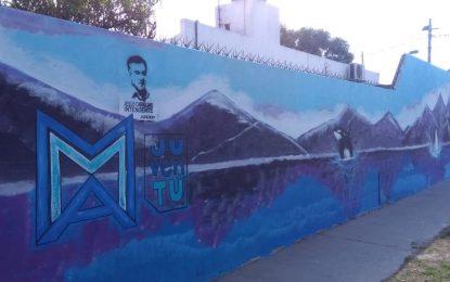 CARIGLINISMO VANDALIZA MURALES PARTICIPATIVOS EN MALVINAS ARGENTINAS