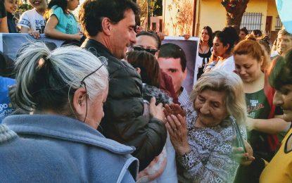 LA GENTE CON FRANCO. EL BARRIO SAN JORGE DE SAN MIGUEL  CON EL #FrenteDeTodos