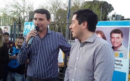 FRANCO LA PORTA PRESENTÓ PROYECTO DE TERMINAL DE ÓMNIBUS EN SAN MIGUEL ACOMPAÑADO POR LEO NARDINI