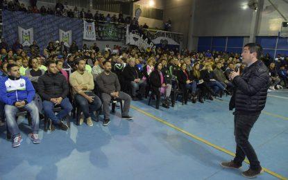 """""""HAY EQUIPO"""" EN MALVINAS ARGENTINAS DONDE EL INTENDENTE NARDINI SUBSIDIÓ A 84 CLUBES DE BARRIO"""
