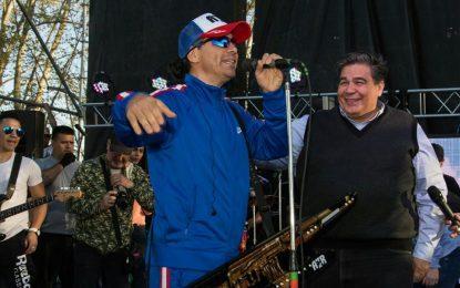 EN JOSÉ C. PAZ MULTITUDINARIO FESTEJO DE LA PRIMAVERA CON DAMAS GRATIS Y GRAN SHOW MUSICAL