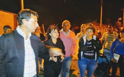 VECINOS DE BARRIO MITRE CON EL CANDIDATO DEL #FrenteDeTodos FRANCO LA PORTA EXPONEN PROBLEMAS