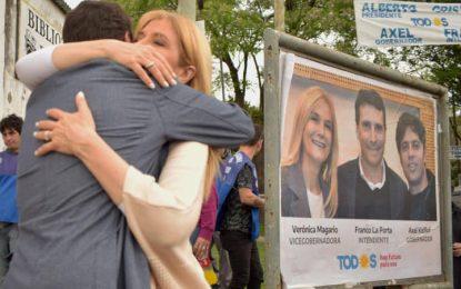 VERÓNICA MAGARIO RESPALDÓ A FRANCO LA PORTA PARA LA INTENDENCIA POR SAN MIGUEL