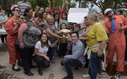 RENOVACIÓN EN OBRAS DEL BARRIO CARUMBÉ EN TORTUGUITAS PRESENTÓ EL INTENDENTE LEO NARDINI
