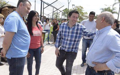 ZONA ALEDAÑA A ESTACIÓN LOS POLVORINES RECUPERADA COMO ESPACIO PÚBLICO EN #ElLugarDeLaFamilia