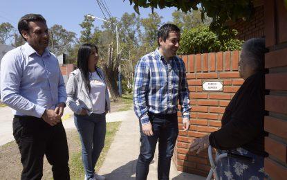 OTRAS OCHO CUADRAS DE ASFALTO CON HIDRÁULICA INAUGURÓ NARDINI EN LOS POLVORINES