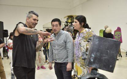 """CASA CULTURA Y ARTE DE MALVINAS ARGENTINAS CON MUESTRA """"LOS GUARDIANES DE OTRAS DIMENSIONES"""""""