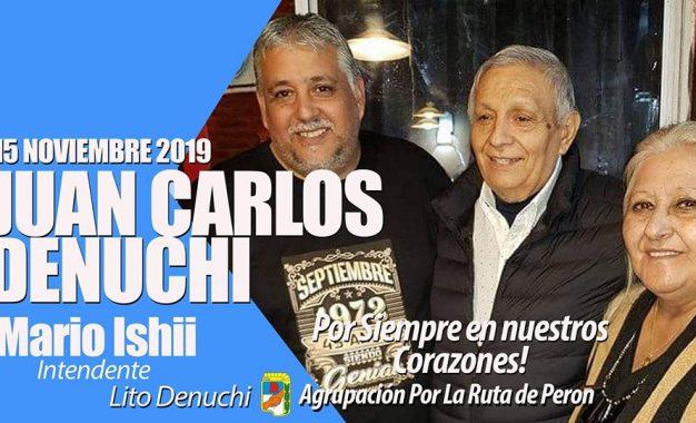 MISA EN MEMORIA DE JUAN CARLOS DENUCHI EN LA PARROQUIA SAN JOSÉ OBRERO DE JOSÉ C. PAZ