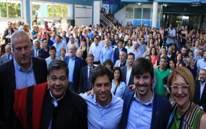 JORNADA EN LA UNPAZ CON KICILLOF E ISHII CELEBRANDO 70º ANIVERSARIO DE LA GRATUIDAD UNIVERSITARIA