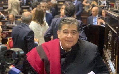 MARIO ISHII RECIBIÓ SU DIPLOMA POR EL PERÍODO 2019/2023 COMO INTENDENTE DE JOSÉ C. PAZ