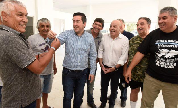 SE CONSTRUYE EN MALVINAS ARGENTINAS EL MUSEO EX COMBATIENTES DE LAS ISLAS MALVINAS