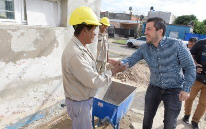 LA AMPLIACIÓN DEL CENTRO DE SALUD DE TIERRAS ALTAS SUPERVISÓ EL INTENDENTE NARDINI