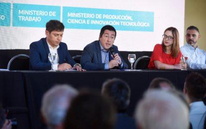 EL GOBERNADOR KICILLOF Y EL INTENDENTE NARDINI PRESENTARON EL PROGRAMA ARRIBA PyMES EN MALVINAS ARGENTINAS