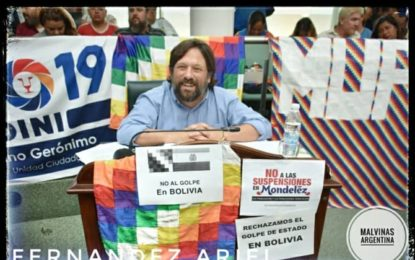 ARIEL FERNÁNDEZ DE LA EVITA DE MALVINAS ARGENTINAS NOMBRADO JEFE DE GABINETE DE LA SUBSECRETARIA DE ECONOMÍA POPULAR