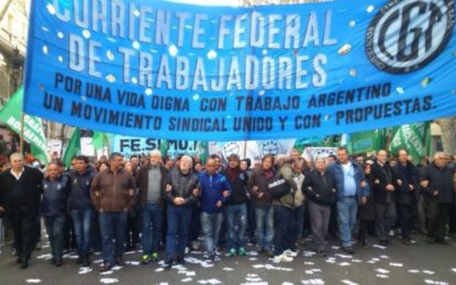 LA CORRIENTE FEDERAL DE LOS TRABAJADORES REPUDIA LA VISITA DEL FMI. PIDE INVESTIGAR LA DEUDA EXTERNA