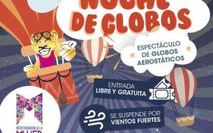 ESPECTÁCULO DE GLOBOS AEROSTÁTICOS EN MALVINAS ARGENTINAS COMO PARTE DE ACTIVIDADES POR EL DÍA DE LA MUJER
