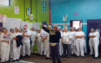MONDELEZ PACHECO PARÓ LA PRODUCCIÓN Y OBLIGÓ A LA PATRONAL A TOMAR MEDIDAS CONTRA EL COVID-19