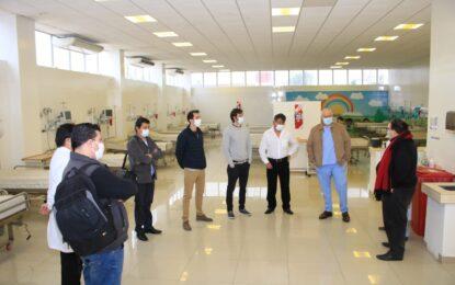 CENTRO DE TRATAMIENTO DE PATOLOGÍAS RESPIRATORIAS PARA COVID-19 EN JOSÉ C. PAZ