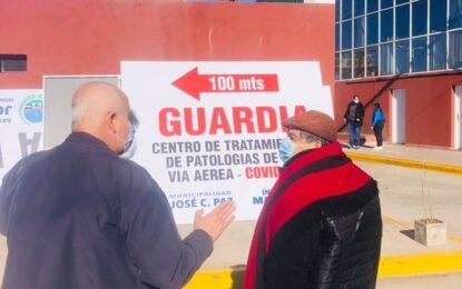 APERTURA DEL CENTRO DE TRATAMIENTO VÍAS AÉREAS Y COVID-19 POR EL INTENDENTE ISHII
