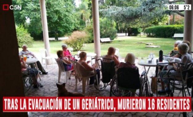 LA TRAGEDIA DE 16 MUERTES EN GERIÁTRICO DE SAN MIGUEL DEVELÓ MISERIAS POLÍTICAS DE DIRIGENTES BECADOS