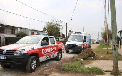 EL INTENDENTE MARIO ISHII INCORPORÓ DIEZ NUEVAS CAMIONETAS AL OPERATIVO CONTRA EL COVID-19