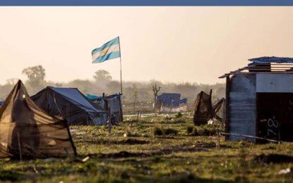 DIPUTADOS NACIONALES DEL PTP EN EL FRENTE DE TODOS DICEN NO AL DESALOJO EN GUERNICA