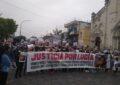 NUEVA MARCHA POR JUSTICIA PARA LUCÍA EN SAN MIGUEL.  PALABRAS DE LA DRA. NILDA GÓMEZ AMPLIANDO RESPONSABILIDADES