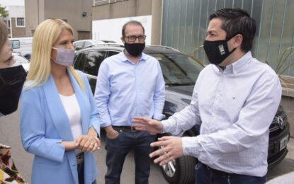 LA VICE GOBERNADORA MAGARIO SE VACUNÓ EN EL DR. ABETE DE MALVINAS ARGENTINAS CONTRA EL COVID-19