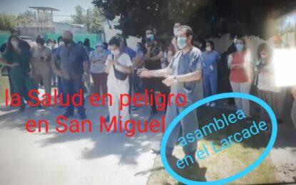 EN SAN MIGUEL NAUFRAGA EL SISTEMA DE SALUD Y NO APARECEN LAS VACUNAS. LOS CONCEJALES EXIGEN RESPUESTAS