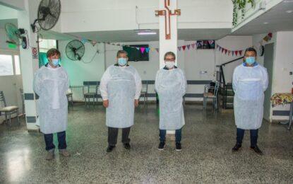 COMENZÓ VACUNACIÓN DE PAMI CONTRA EL COVID-19 EN JOSÉ C. PAZ. EL INTENDENTE ISHII CON MARTÍN RODRÍGUEZ Y EL DIPUTADO PÉREZ ACOMPAÑARON