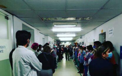 EL LARCADE EXIGE DIÁLOGO Y EL INTENDENTE CHANTAJEA PIDIENDO QUE ENTREGUEN A MÉDICOS VOCEROS DEL CONFLICTO