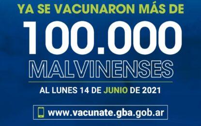 MÁS DE 100.000 PERSONAS YA SE VACUNARON CONTRA EL COVID-19 EN MALVINAS ARGENTINAS