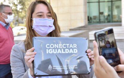 MÁS NOTEBOOK PARA ALUMNOS DE MALVINAS ARGENTINAS EN EL PLAN JUANA MANSO