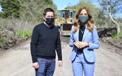 EL MINISTRO NARDINI Y TOLOSA PAZ RECORRIERON OBRAS DEL FONDO DE INFRAESTRUCTURA MUNICIPAL EN LA PLATA