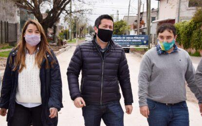 EN MALVINAS ARGENTINAS NO SE PARA Y LUEGO DE LAS PASO EL INTENDENTE CONTINÚA SUPERVISANDO OBRAS