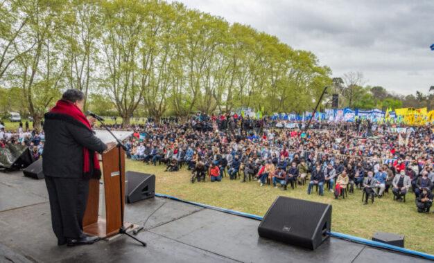 MARIO ISHII RECIBIÓ AL PRESIDENTE FERNÁNDEZ Y DIRIGENCIA NACIONAL Y PROVINCIAL INAUGURANDO FACULTAD DE MEDICINA