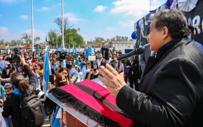 INAUGURACIÓN DE JARDÍN DE INFANTES Y ENTREGA DE NETBOOKS EN LA ESCUELA SECUNDARIA 35 REALIZÓ EL INTENDENTE ISHII