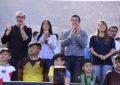GRAN FIESTA DEL DEPORTE SOCIAL EN EL LANZAMIENTO DE LAS LIGAS DEPORTIVAS EN MALVINAS ARGENTINAS
